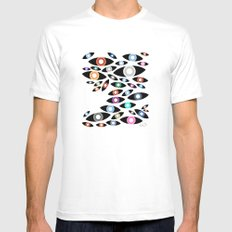 SEEN Mens Fitted Tee White SMALL