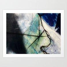 Impending Crossroads Art Print