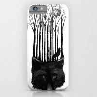 Wolf Barcode iPhone 6 Slim Case