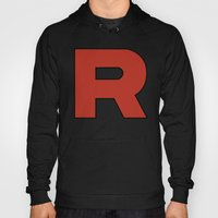 Team Rocket Logo - Pokem… Hoody