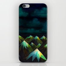 Night Mountains.  iPhone & iPod Skin