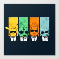 Reservoir Poke Canvas Print
