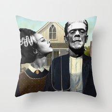 Dark Love  Throw Pillow