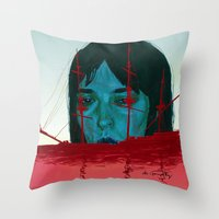 The Sinking Ship IS My Lifeboat. Throw Pillow