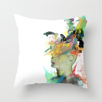 Orca Magic Throw Pillow
