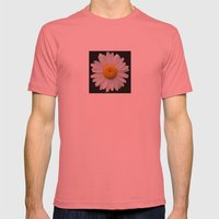 Plain And Simple Mens Fitted Tee Pomegranate SMALL