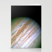 Jupiter by Society6 Planet Prints Stationery Cards