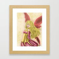 Summer Fairy Framed Art Print