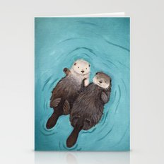 Otterly Romantic - Otter… Stationery Cards