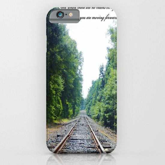 TRAIN Tracks iPhone & iPod Case