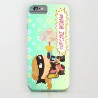 Cupcake woman iPhone 6 Slim Case