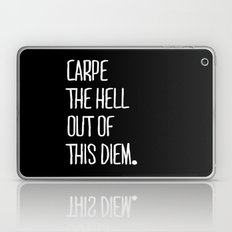 Carpe Diem ///www.pencilmeinstationery.com Laptop & iPad Skin