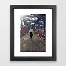 Summer in NYC pt.3 Framed Art Print