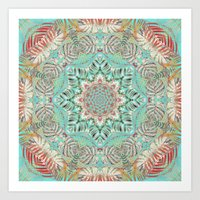 Jungle Kaleidoscope 2 Art Print