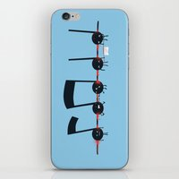 Dead Notes iPhone & iPod Skin