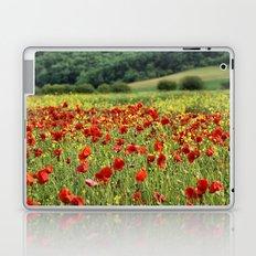 Poppies, Poppies, Poppies Laptop & iPad Skin