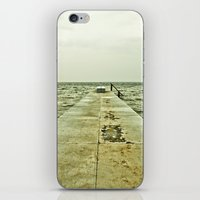 Rough waters iPhone & iPod Skin