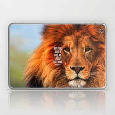 BOLD AS LIONS Laptop & iPad Skin