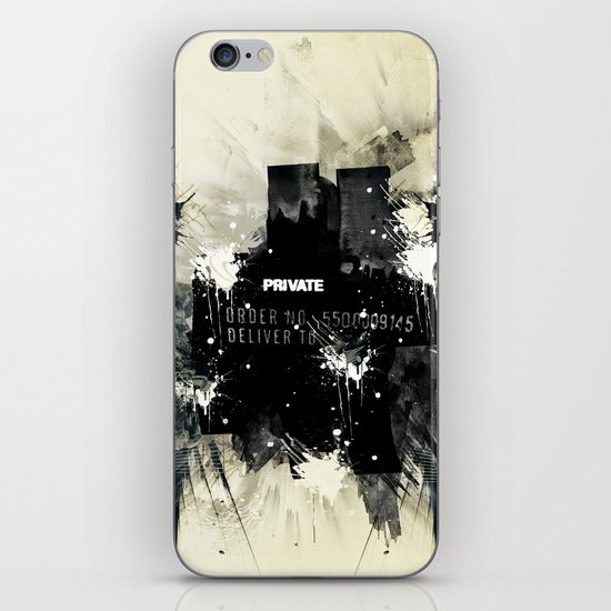 Private place iPhone & iPod Skin