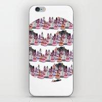 Bear and macaroons!  iPhone & iPod Skin
