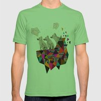 The Night Playground by Peter Striffolino and Kris Tate Mens Fitted Tee Grass SMALL