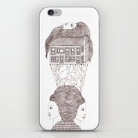 North, East, West iPhone & iPod Skin