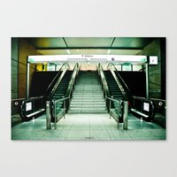 U-Bahn Canvas Print