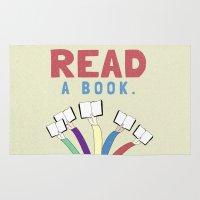 Read a book. Rug