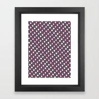 Forest Pattern ~ Cherry … Framed Art Print