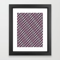 Forest Pattern ~ Cherry Blossoms Framed Art Print