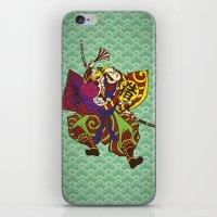 Samurai With Vintage Jap… iPhone & iPod Skin