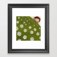 Welcome back spring! Framed Art Print