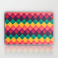 Happy Day Pattern Laptop & iPad Skin