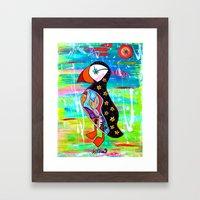 Burney  Framed Art Print
