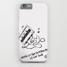 music is the language of our soul. Slim Case iPhone 6s