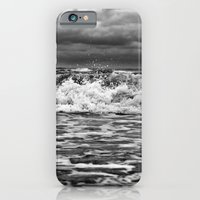 iPhone & iPod Case featuring Out in the Wind Out in the Water by SilverSatellite