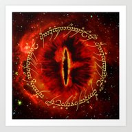 Sauron The Dark Lord Art Print