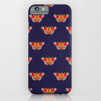 Geometric Butterfly Patt… iPhone 6 Slim Case