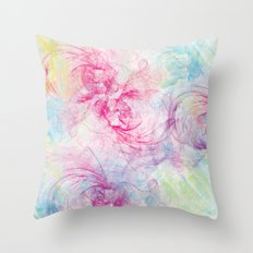 Summer Craziness 1 Throw Pillow
