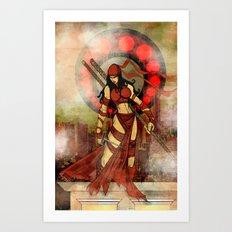 Elektra red..... Art Print