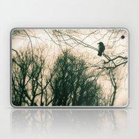 Crow Blur Laptop & iPad Skin