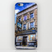 Prospect of  Whitby Pub London 1520  iPhone & iPod Skin