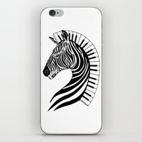 Zebra Clef iPhone & iPod Skin