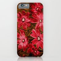 flowers 2 iPhone 6 Slim Case