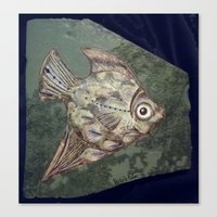 Stone Fish Canvas Print