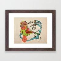 Arteria Framed Art Print