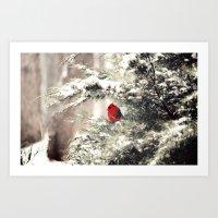 View The Snowfall, Cardi… Art Print