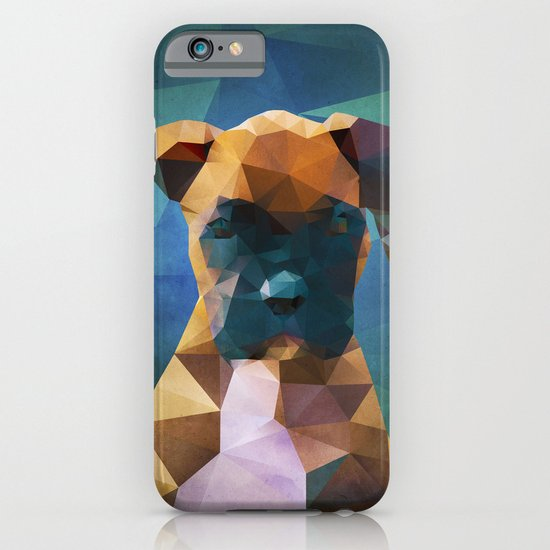 The Boxer - Dog Portrait iPhone & iPod Case