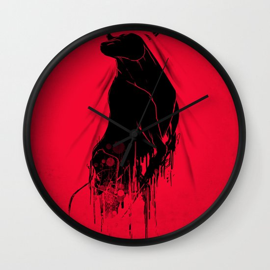 Revenge Of The Toro Wall Clock