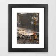 Memory And Perception 34 Framed Art Print
